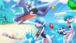 Pokemon Summer Vacation