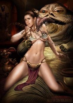 Leia & Jabba